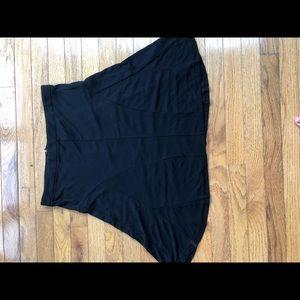 DKNY flowy ALine black Skirt